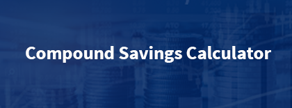 Compound Savings Calculator